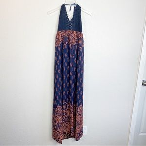 Illa Illa halter maxi dress large